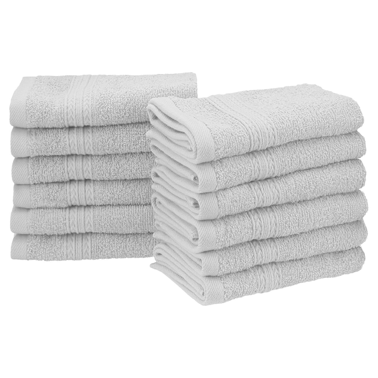 Superior Eco Friendly 100 Ringspun Cotton 12 Piece Face Towel Set