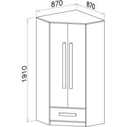 Photo of Reduced high gloss wardrobes