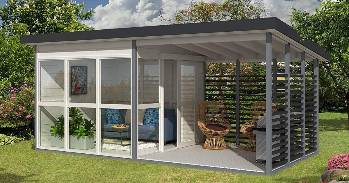 Amazon Is Selling This Insane DIY Backyard House You Can ...