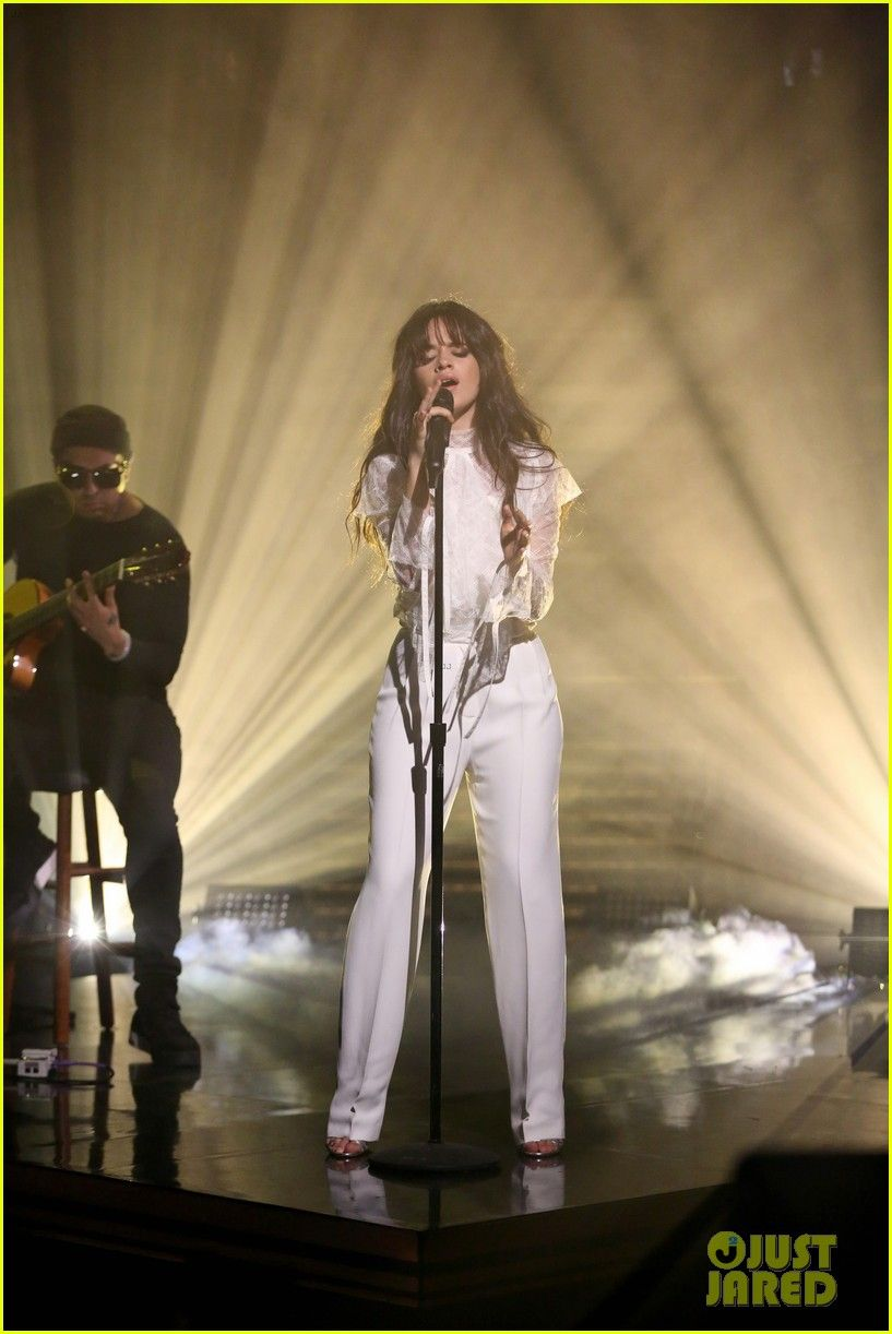 Camila Cabello Sings Summer Tweets Performs Crying In The Club 01 Camila Cabello Performance Performance Outfit