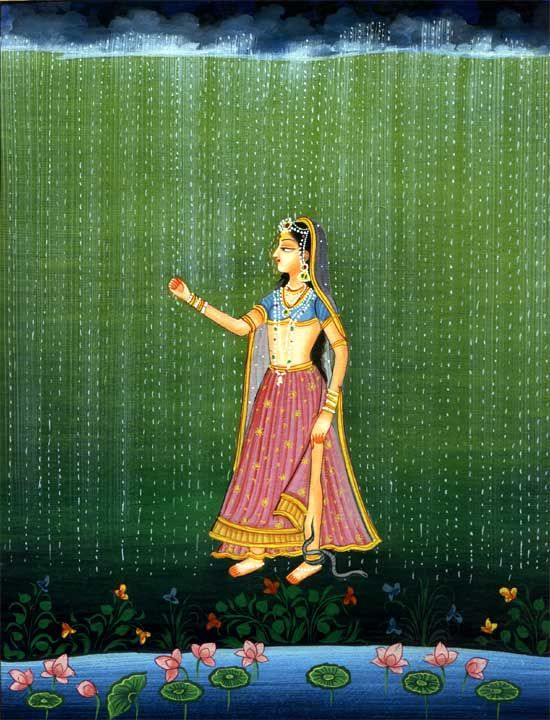 With Passion In Her Heart The Abhisarika