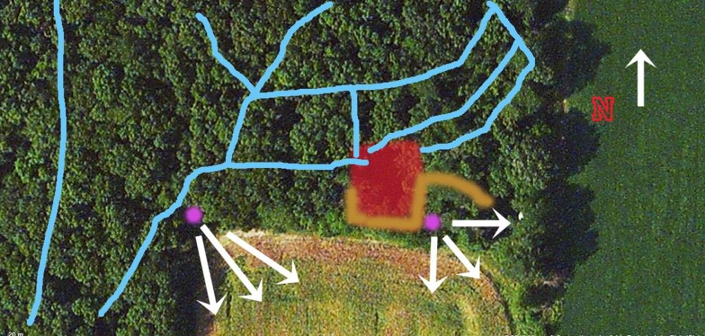 Food Plot Layout Deer Food Plots Pinterest Layouts Food And
