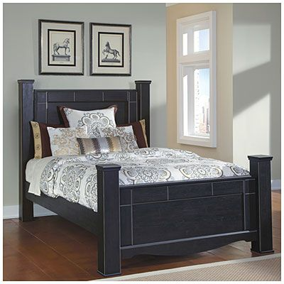 Annifern Queen Poster Bed at Big Lots. | delightful designs ...