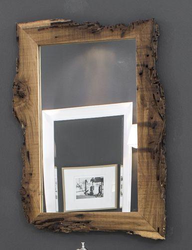 Wandspiegel / Modern / Aus Holz NEW AGE Mirror 55x75cm BLEU PROVENCE