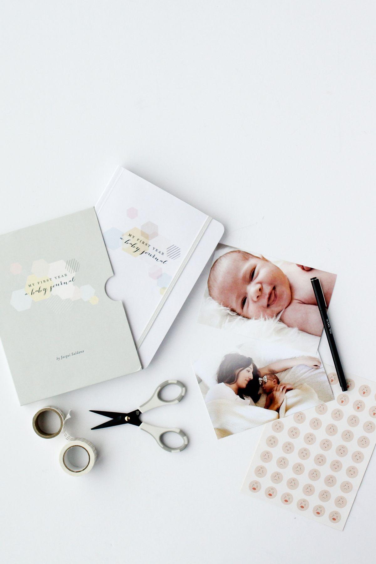 Artifact Uprising Baby Book Photo Album Babys First Year Memory