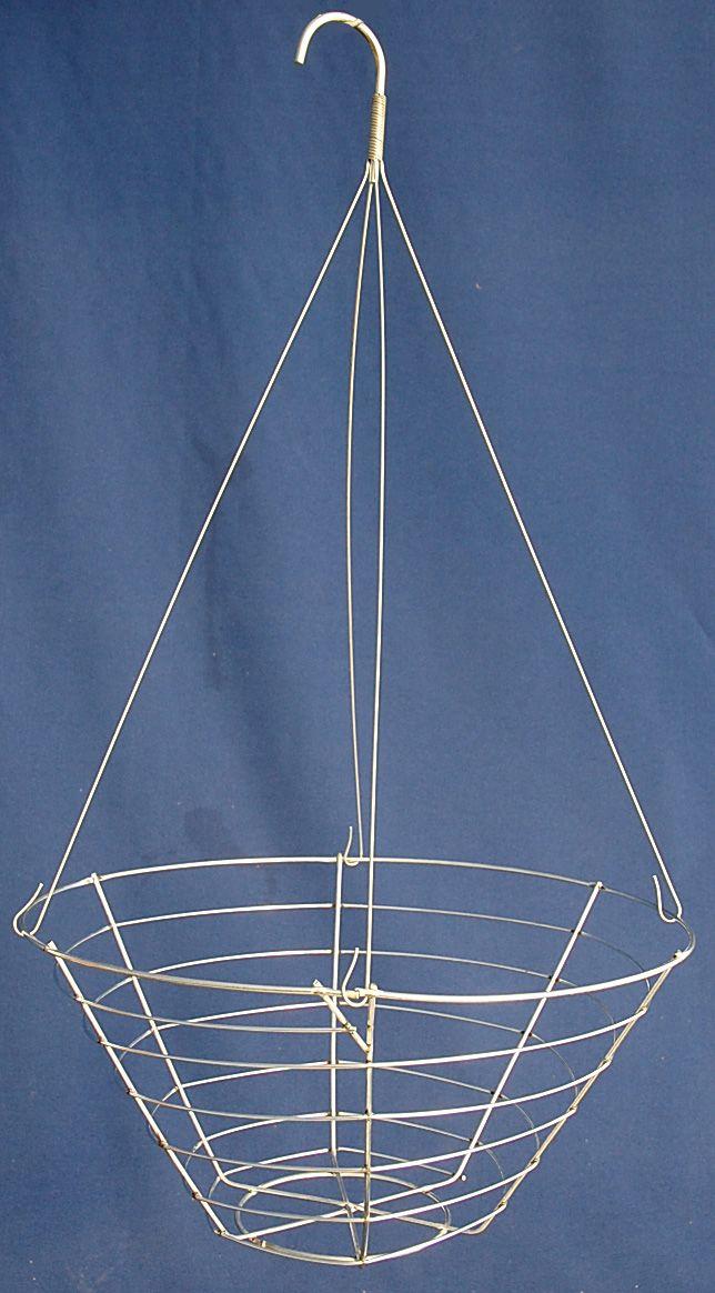 Wire hanging basket 12\