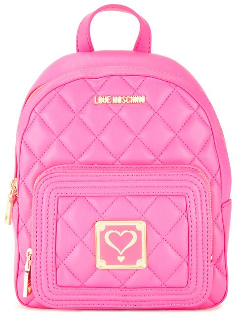 71e91098709 LOVE MOSCHINO Quilted Backpack. #lovemoschino #bags #backpacks ...