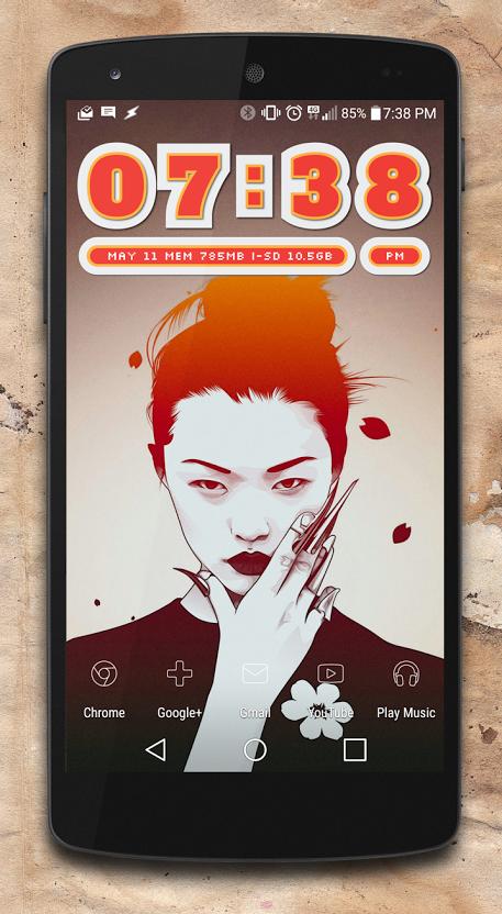 Wall +Skunk Twentysix Glyphsy icons Funk Zooper widget