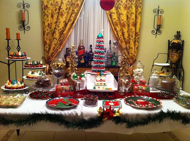 Christmas Dessert Table Ideas Tis The Season Christmas Desserts