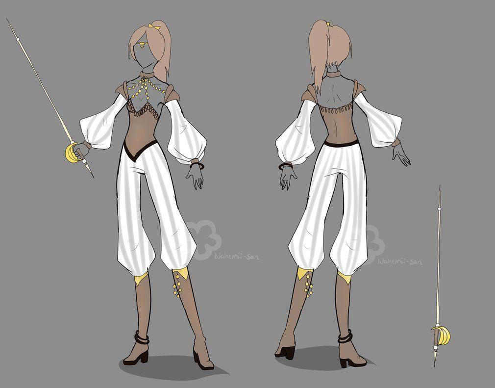Costume Design Character Analysis : Fantasy character design by nahemii san on deviantart