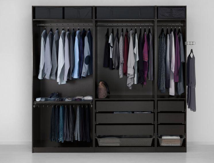 Cabine armadio ikea cabina armadio nel 2019 ikea pax for Ikea cabina armadio pax