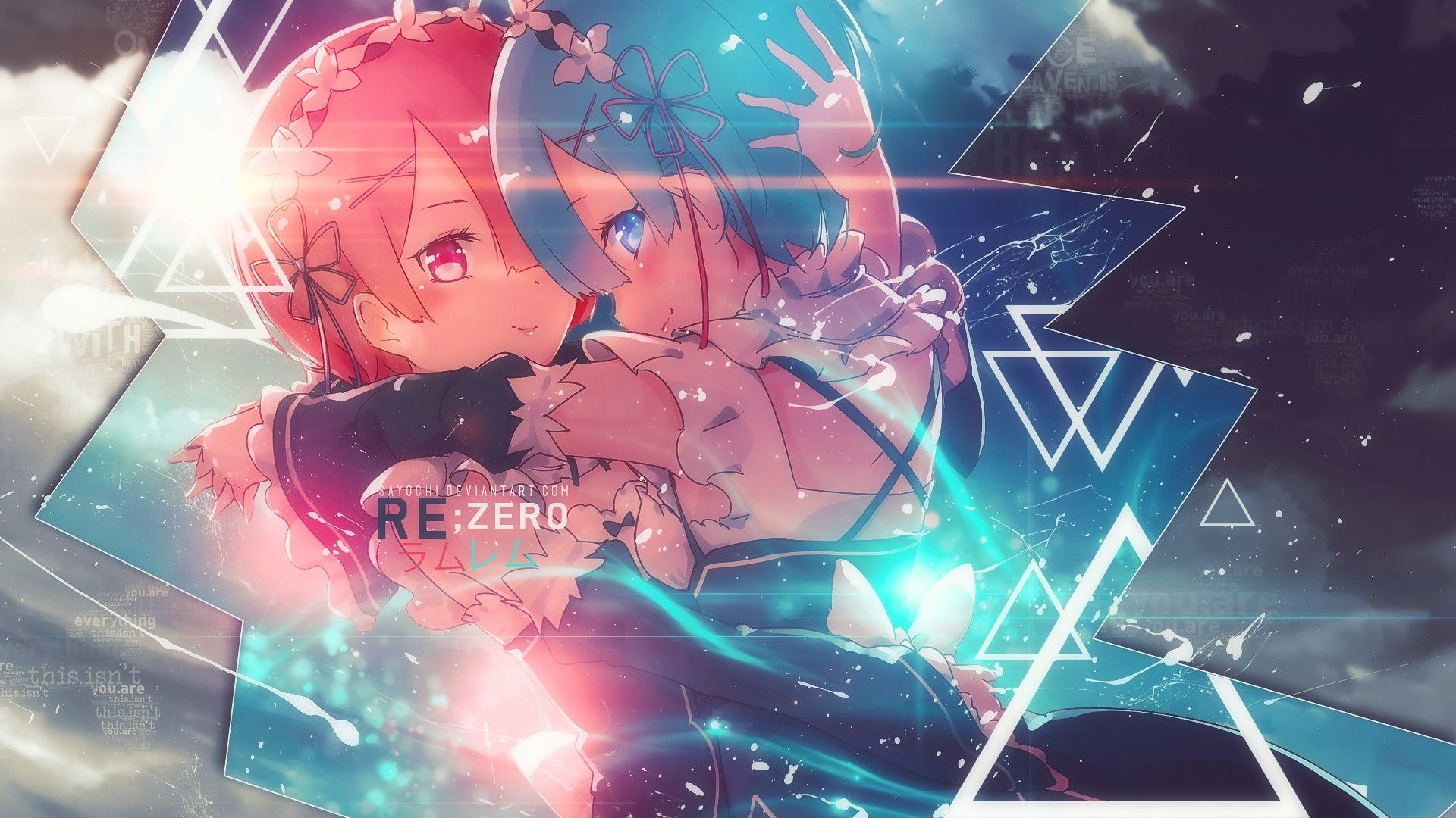 Re Zero Wallpaper Cute Re Zero Wallpaper Anime Scenery Wallpaper