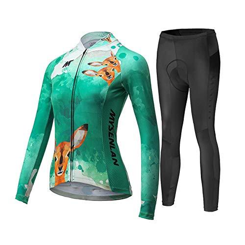 Mysenlan Womens 3D Padded Cycling Underwear Shorts Bicycle Bike MTB Under Wear