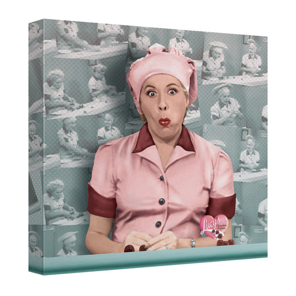 I Love Lucy Portrait Canvas Wall Art I Love Lucy Portrait