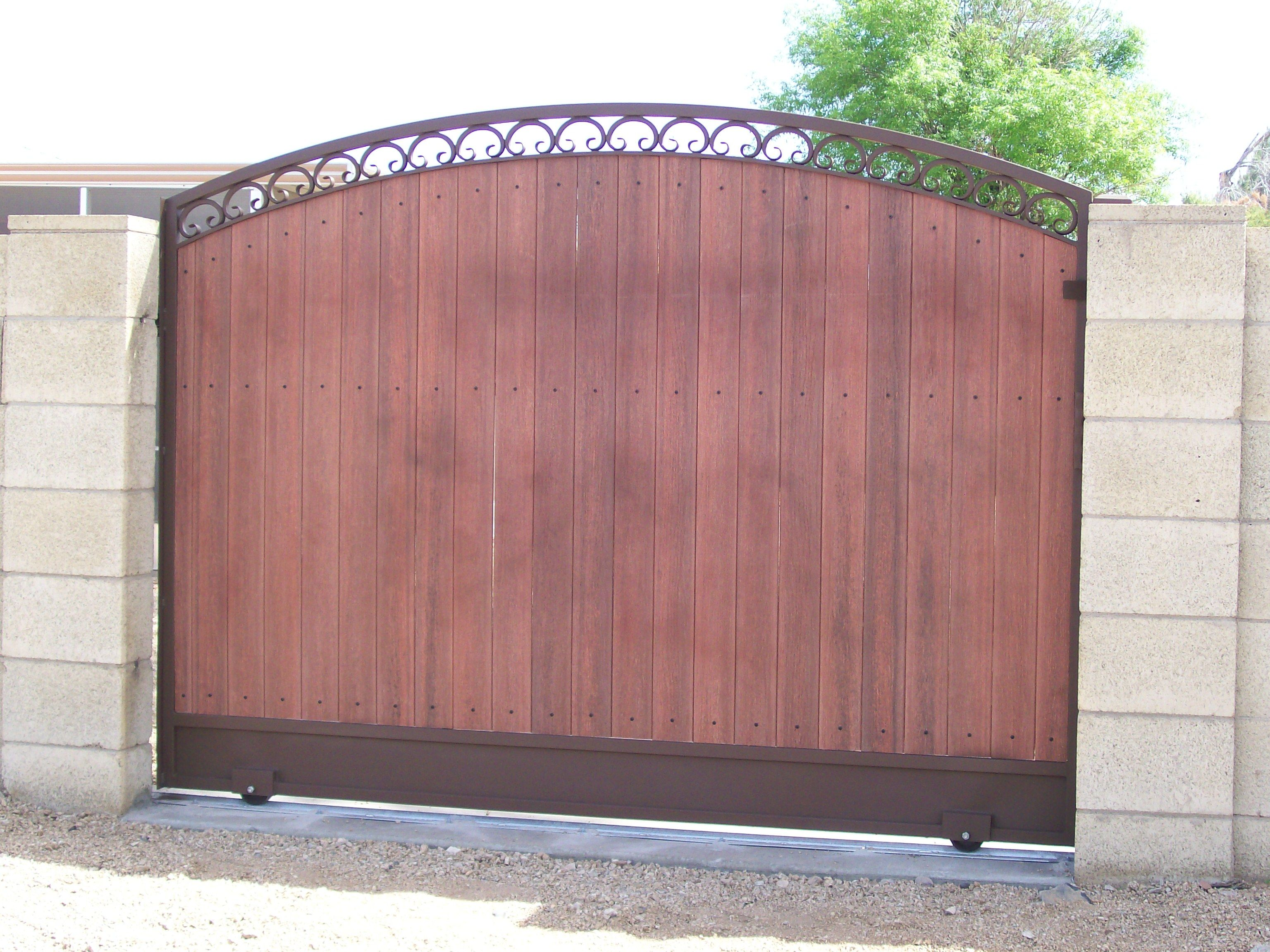 Galvanized steel frame drive gate fence dallas wood gate - Design Modern Gate Design Iron Gate Railings Front Door New Doors