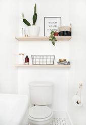 Photo of Mensole bagno fai-da-te, #Bagno #DIY #diybathroomshelf #Shelf