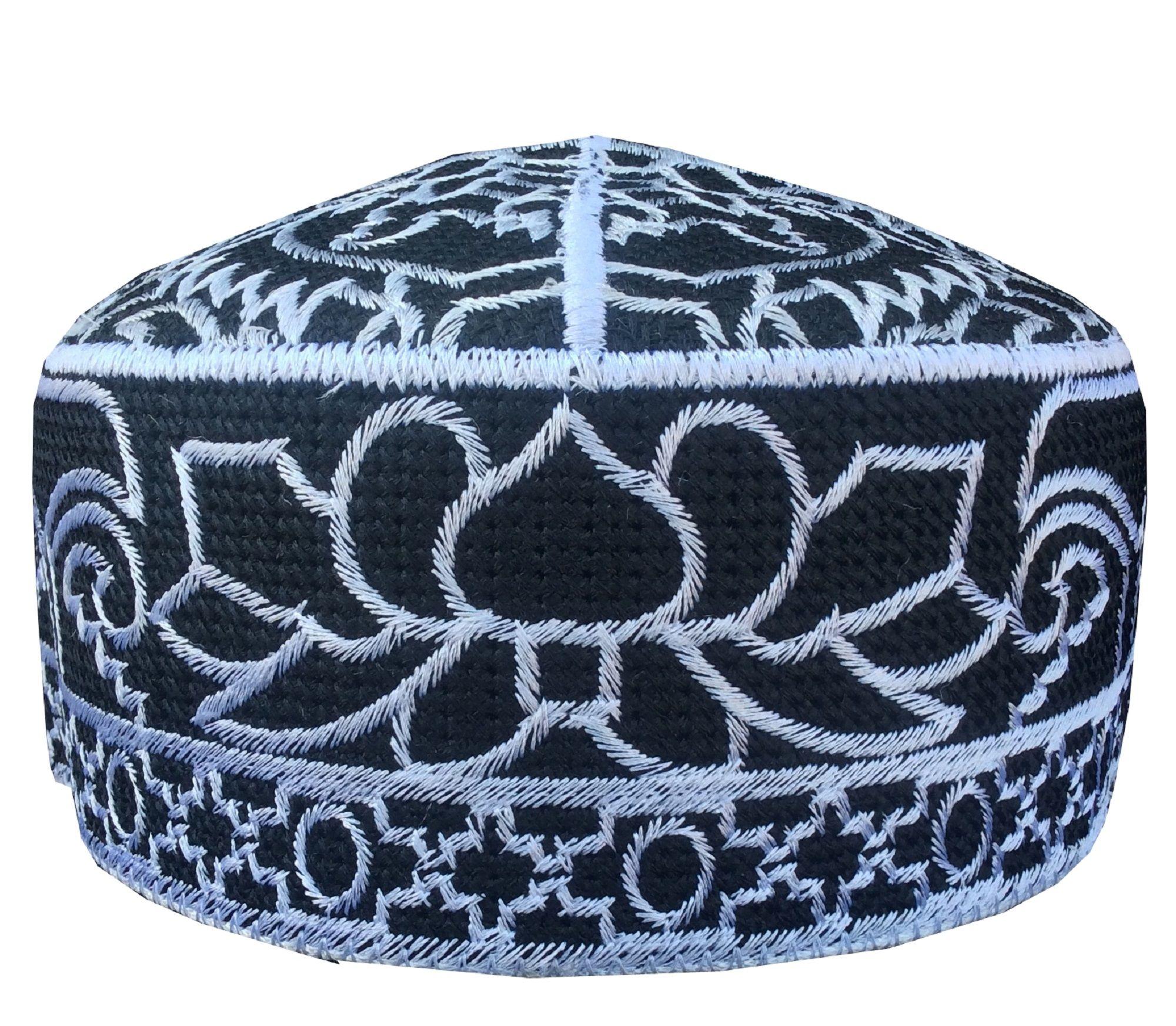 Saudi Arabia Ramzan Kufi Men S Cap Hand Embroidered Koofi Cap Taqiya Takke Kofia Topi Pakistani Hand Embroidered Mens Caps Hats For Men