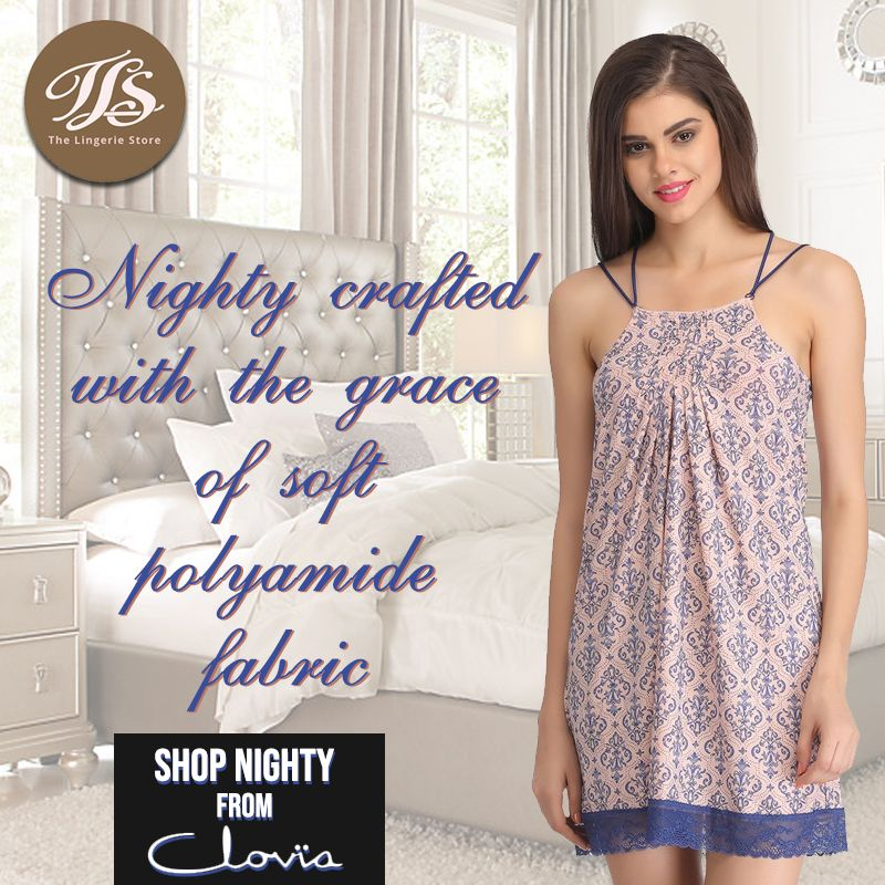 ffb49b1e18 Sleepwear Women · Fabric Shop · Nighty Crafted with the grace of Soft  Polyamide fabric. Shop Nighty from Clovia at https