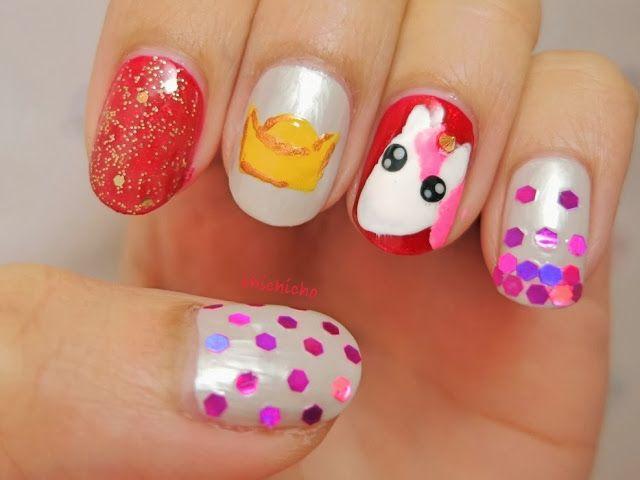 Unicorn + Chinese New Year - Horse Nail Art (Born Pretty Store ...
