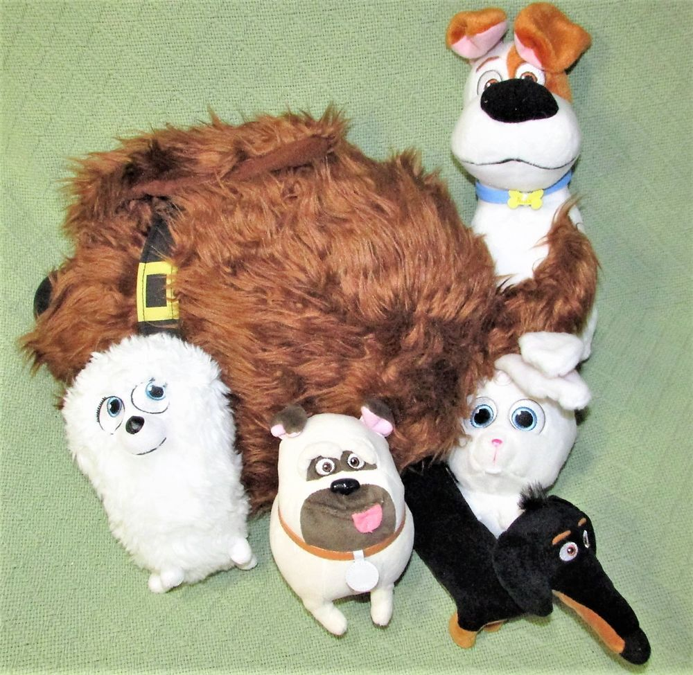Large Plush Secret Life Of Pets Snowball 15 Duke 7 Mel 10 Max