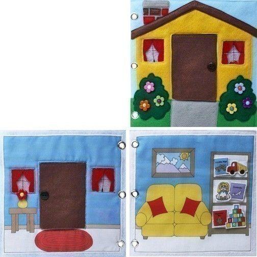Daisy Lane Dolls   EPattern For A Portable Dollhouse. $8.00, Via Etsy.