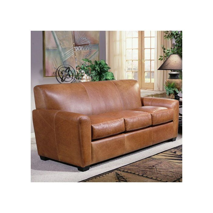 Jackson Leather Sleeper Sofa