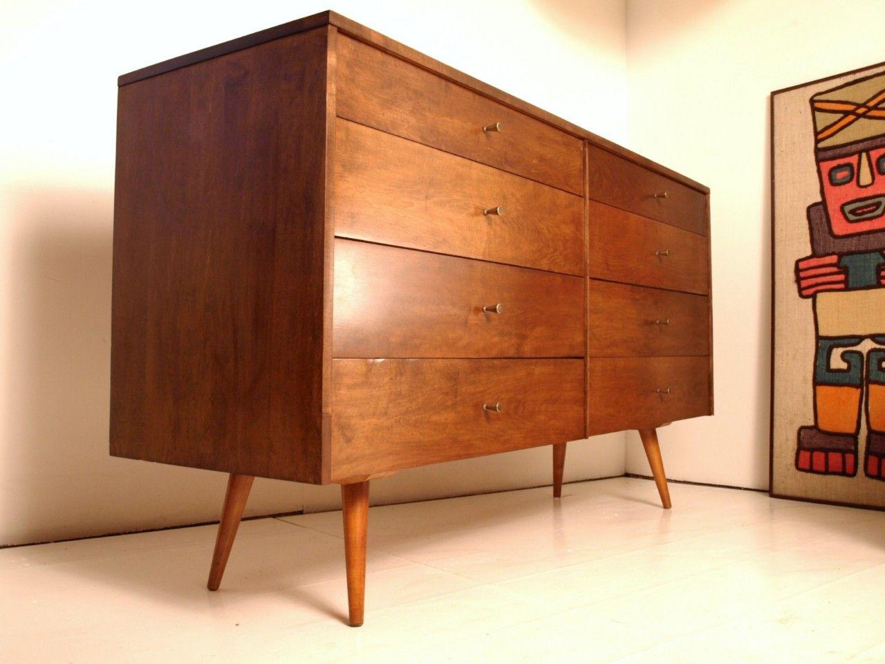 Credenzas Modernas De Madera : Rare paul mccobb planner group dresser credenza eames madera y cosas