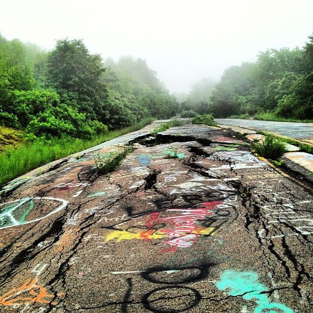 Places To Camp Pa: Instagramming The Smoldering Ghost Town Of Centralia