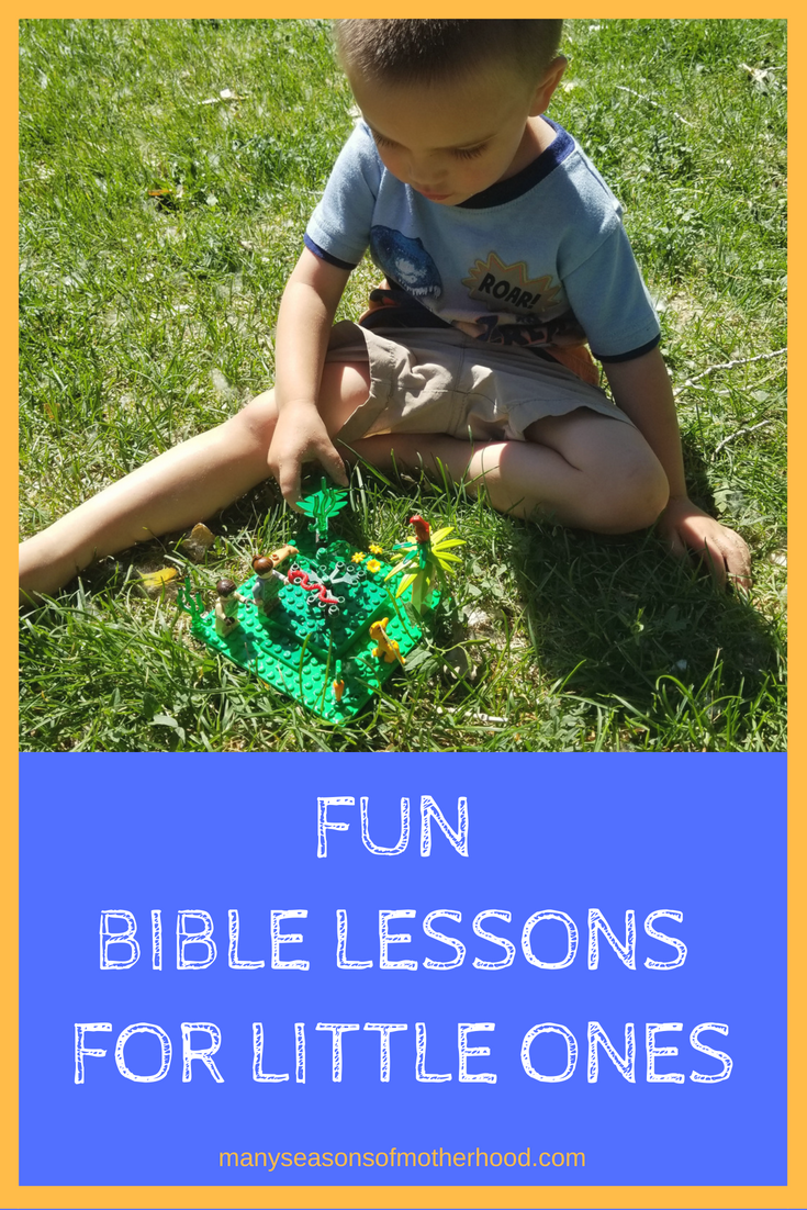 Fun Bible Lessons for Little Ones   Many Seasons of Motherhood Blog