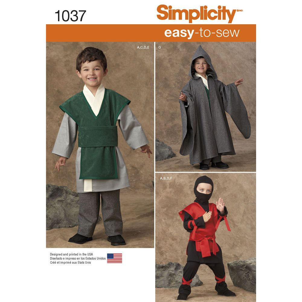 costumes for boys with easy to sew patterns; you can create your ...