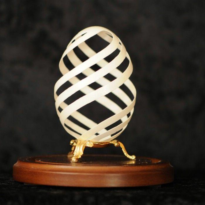 Eggshell Art | Incredible Ostrich Egg Shell Art by Brian Baity
