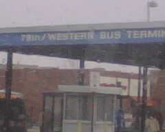 No  49A South Western, 79th bus terminal 27 mins from 79th