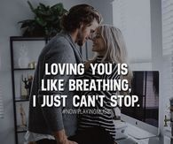 loving you is like breathing how can i stop