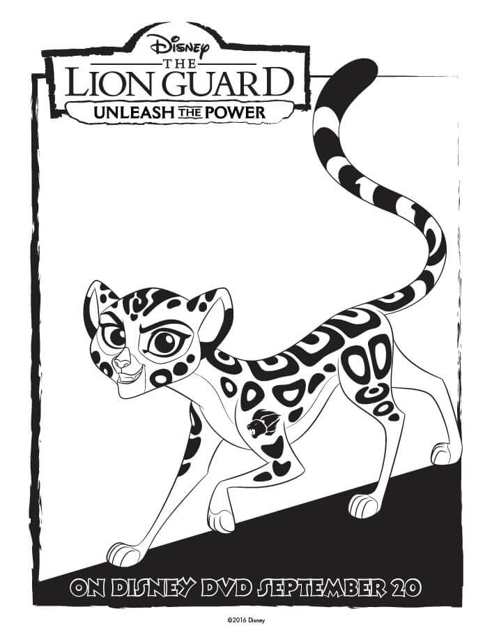 The Lion Guard Coloring Pages Unleash The Power Lion Guard Coloring Books Lion Coloring Pages