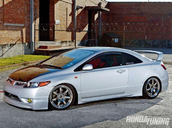 2007 Honda Civic Si Tuning Magazine