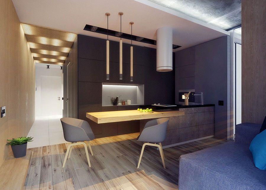 Arredare Bilocale ~ Arredo per appartamento di 40 mq 30 interior design pinterest