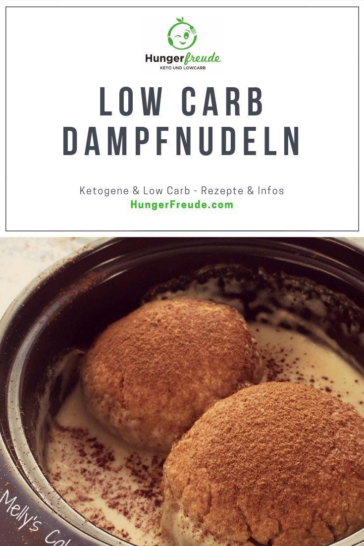 LowCarb Dampfnudeln - HungerFreude - Ketogene & Low Carb Rezepte