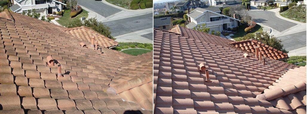 Roof Pressure Washing Services Pressure Washing Pressure Washing Services Spanish Tile Roof