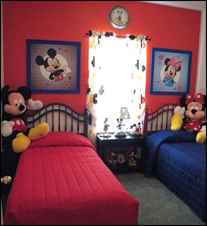 Decorating theme bedrooms - Maries Manor: Mickey Mouse bedroom ...