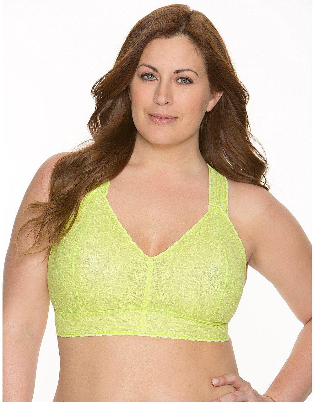 06b9c47b45 Plus Size Lace Cami Bralette by Cacique