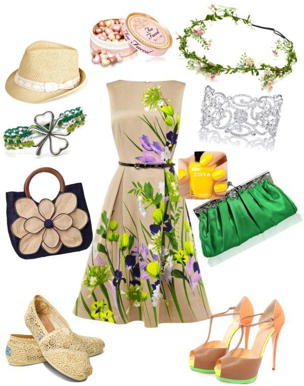 """""""Un abito perfetto in ogni momento della giornata."""" by blondesuite ❤ liked on Polyvore"""