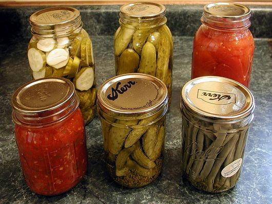 Favorite canning recipes
