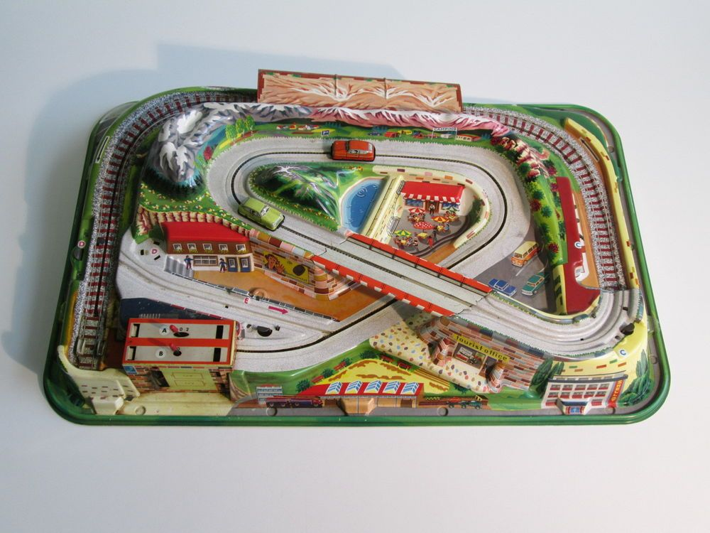 1960 Vintage Large D B P Germany Toy Race Track Car Plastic Dimensions 27 5 Unbranded Retro Toys Toy Race Track Old Toys