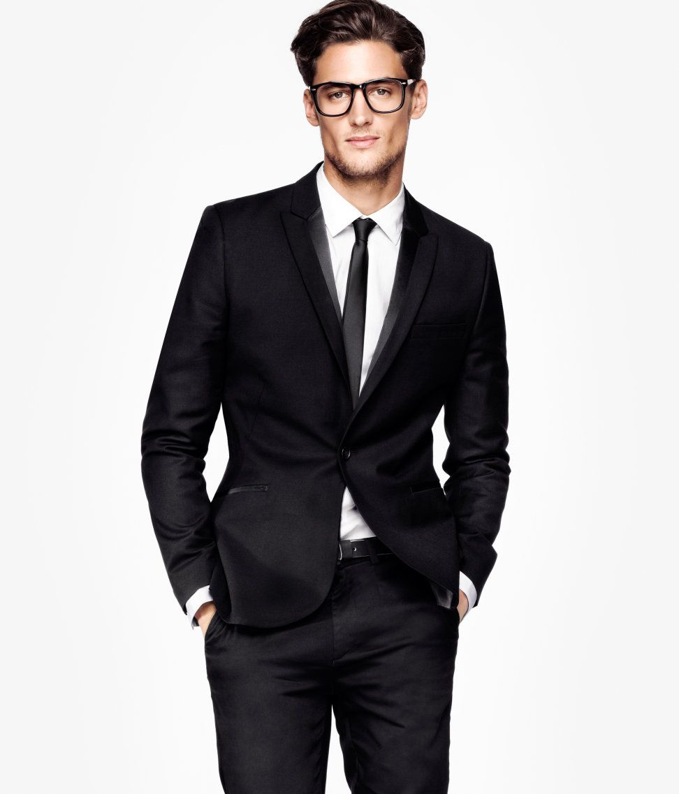 Men's Black Suit | A/W 12-13: For him | Pinterest | Men's style ...