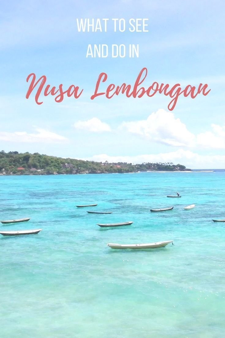 What to see and do in Nusa Lembongan #bali in #indonesia Crystal Dive Award Winning 5 Star Scuba Diving on Tropical Koh Tao in Thailand. https://www.crystaldive.com/padi-diving-courses/