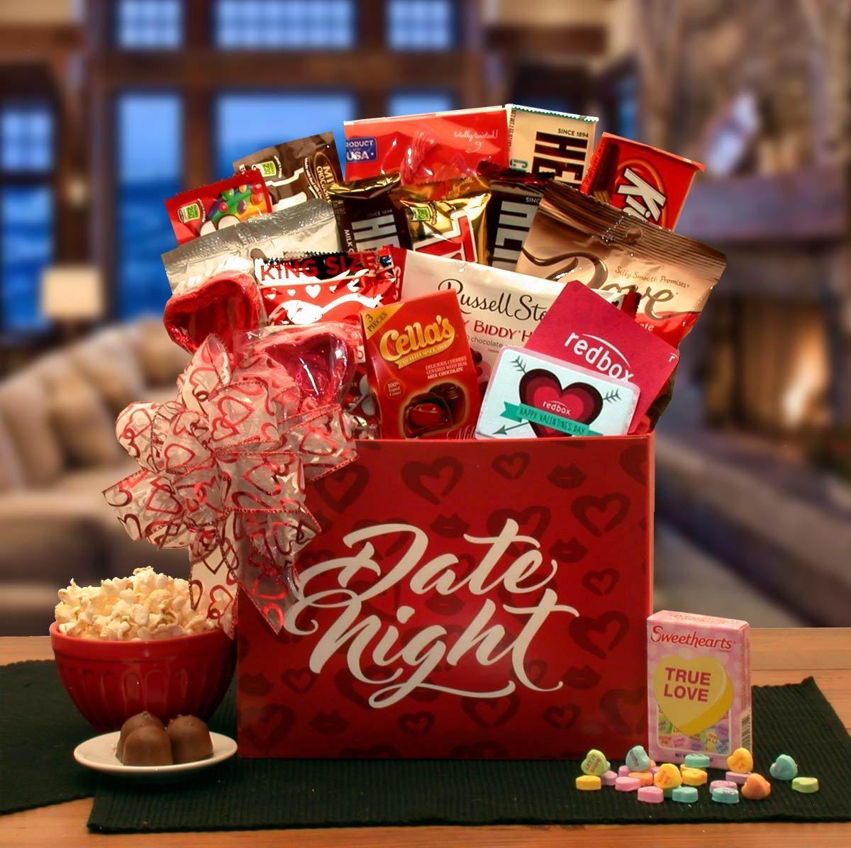 Date Night Valentine Gift Box Valentines Gift Box Date Night