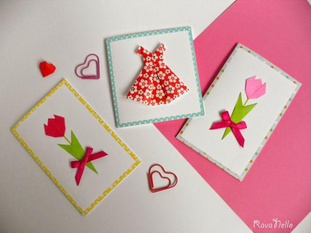 Origami mothers day card biglietto dauguri per la festa della origami mothers day card biglietto dauguri per la festa della mamma origami mightylinksfo