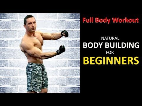 beginners dumbbell weights body building workout at home