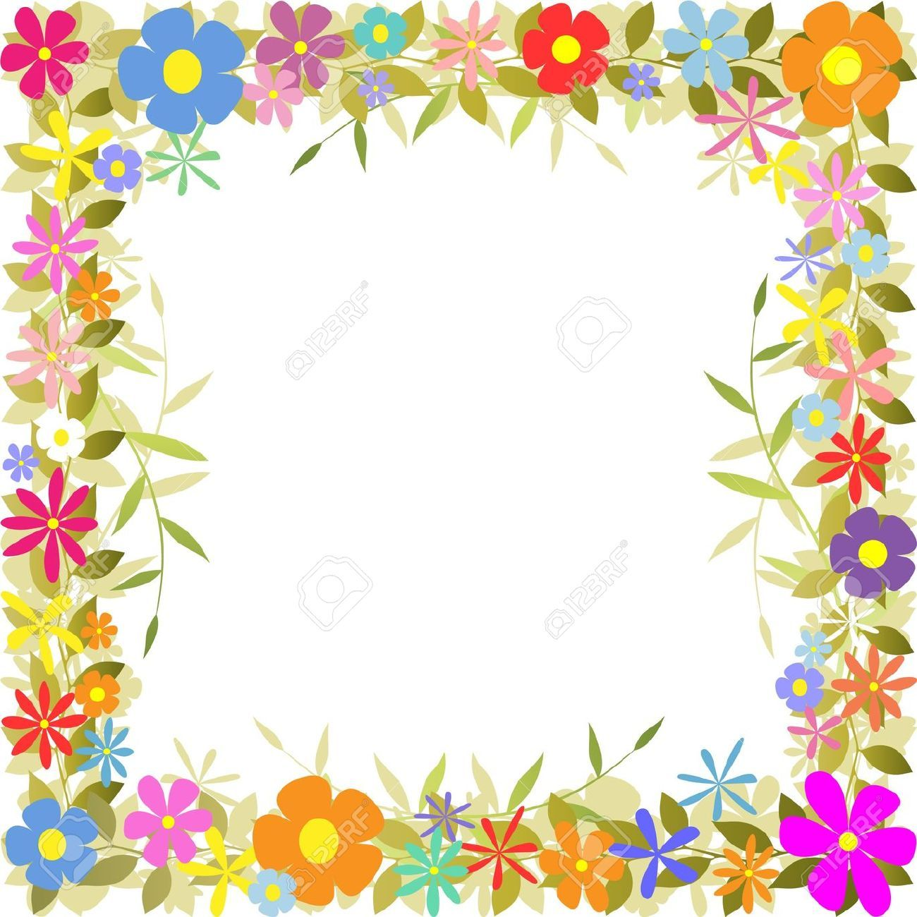 marcos para hojas blancas - Buscar con Google | preescolar ...