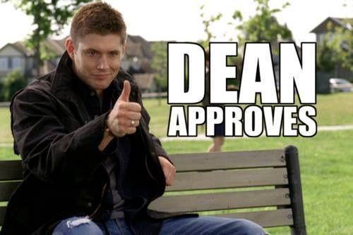 Dean Approves Supernatural Meme